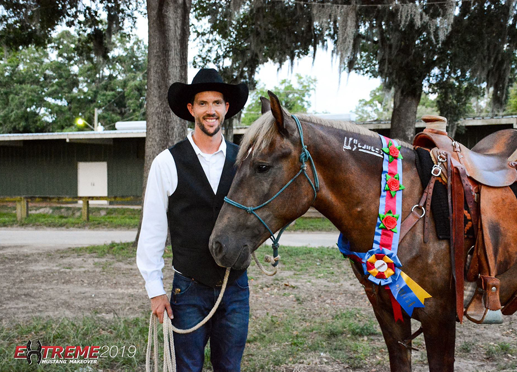 Craig Moore Road to the Horse Wild Card competitor
