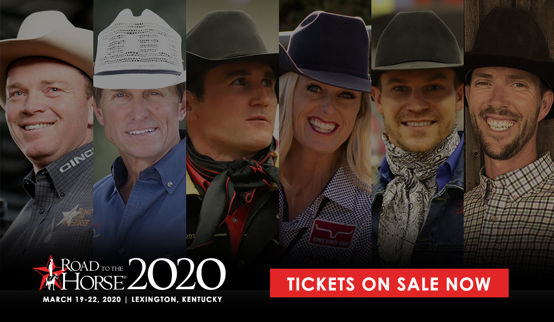 Road to the horse buy tickets graphic